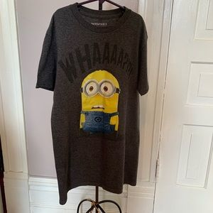 Despicable Me 2 Minion T-shirt Youth Small EUC